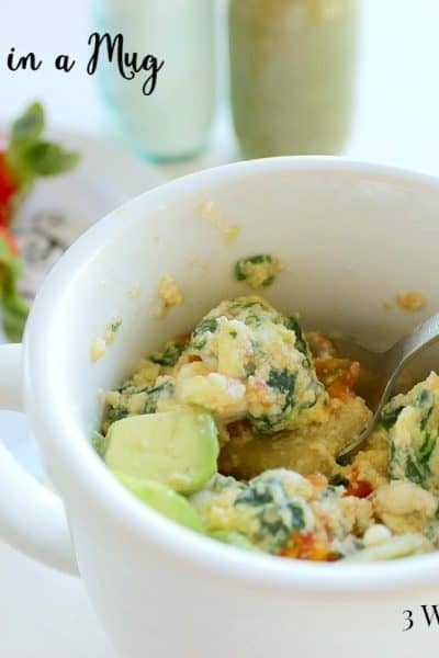 Eggs in a Cup Recipe - 3 Weight Watchers Points