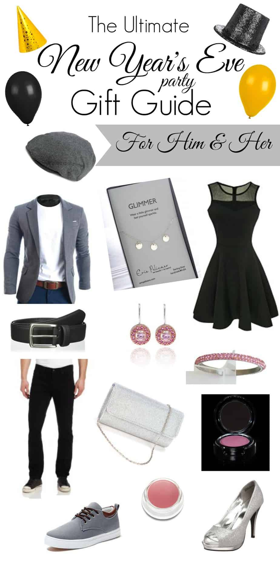 The Ultimate New Years Eve Party Gift Guide For Him & Her