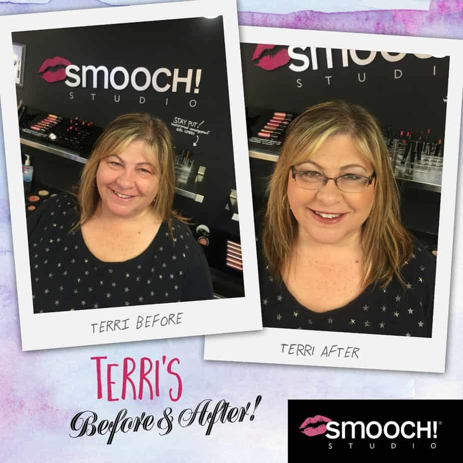 Terri's before and after