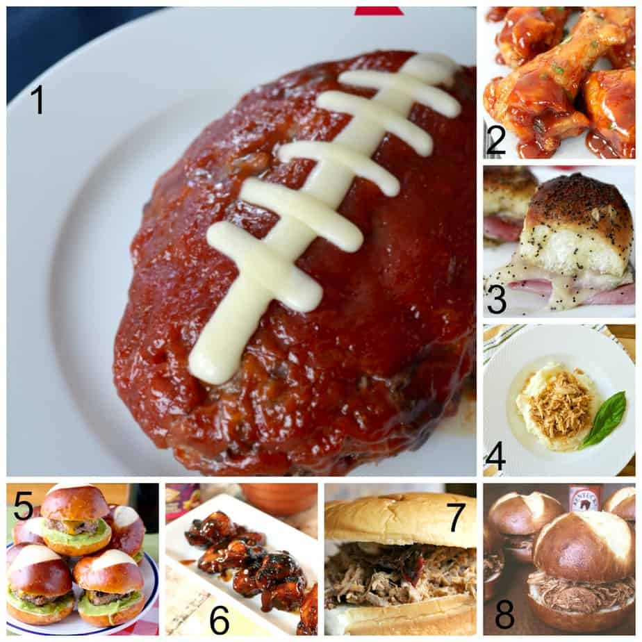 Game Day Main Dish Recipes