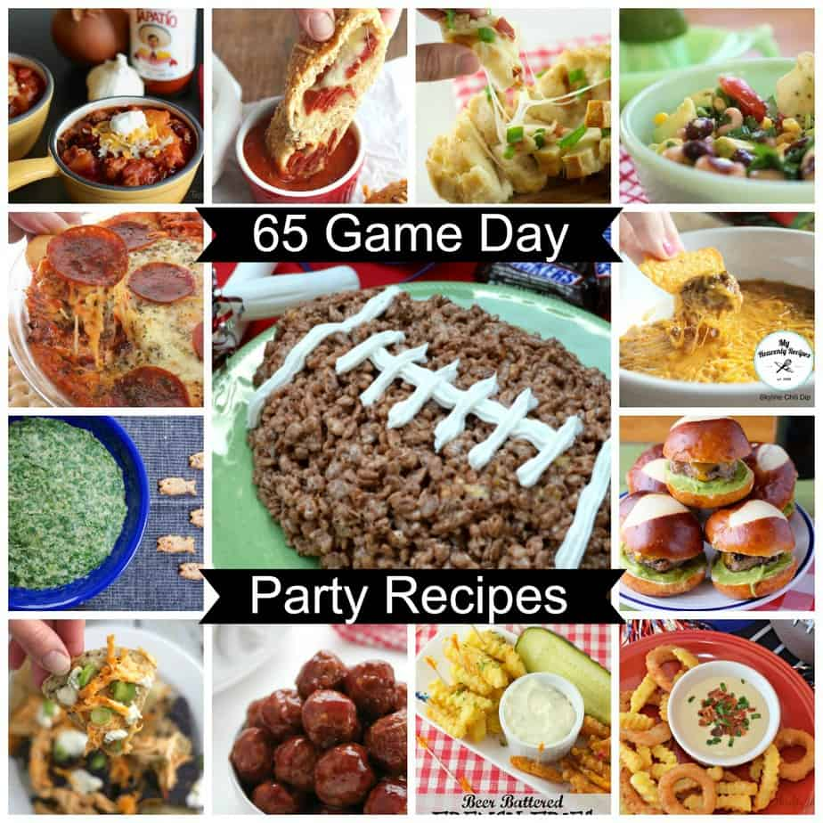 65 Game Day Party Recipes