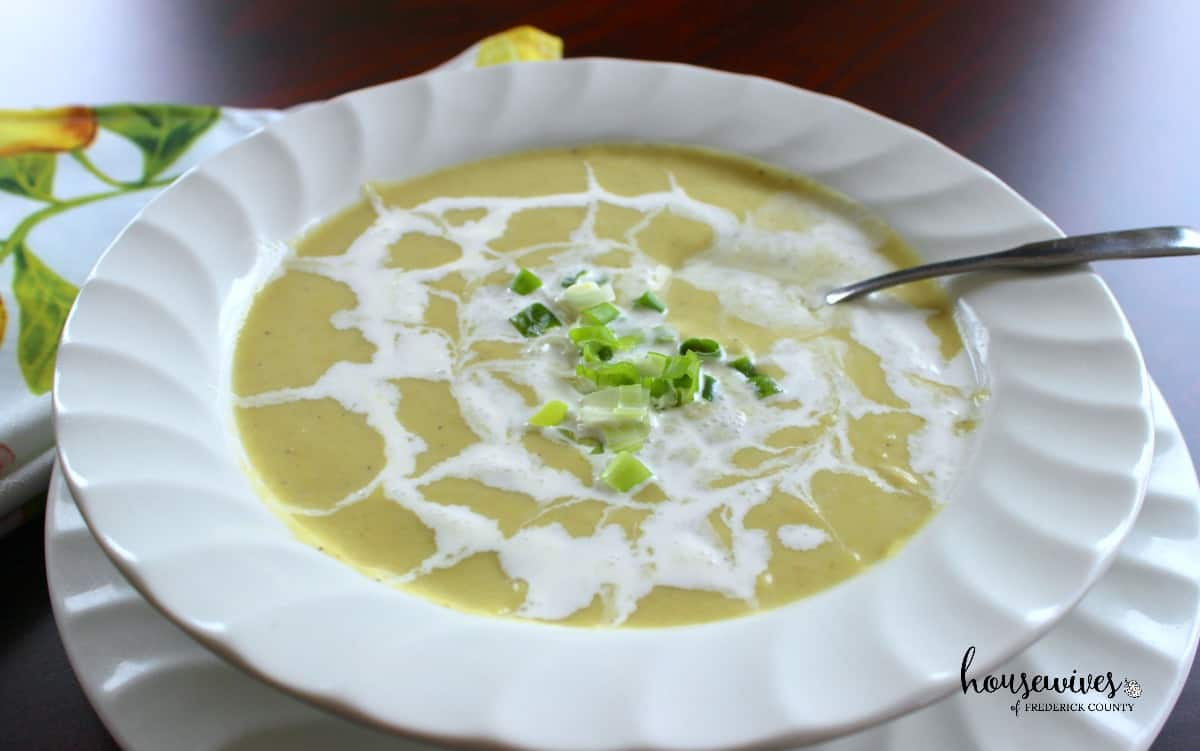 Creamy Leek & Parsnip Soup - 8 Weight Watchers PPV