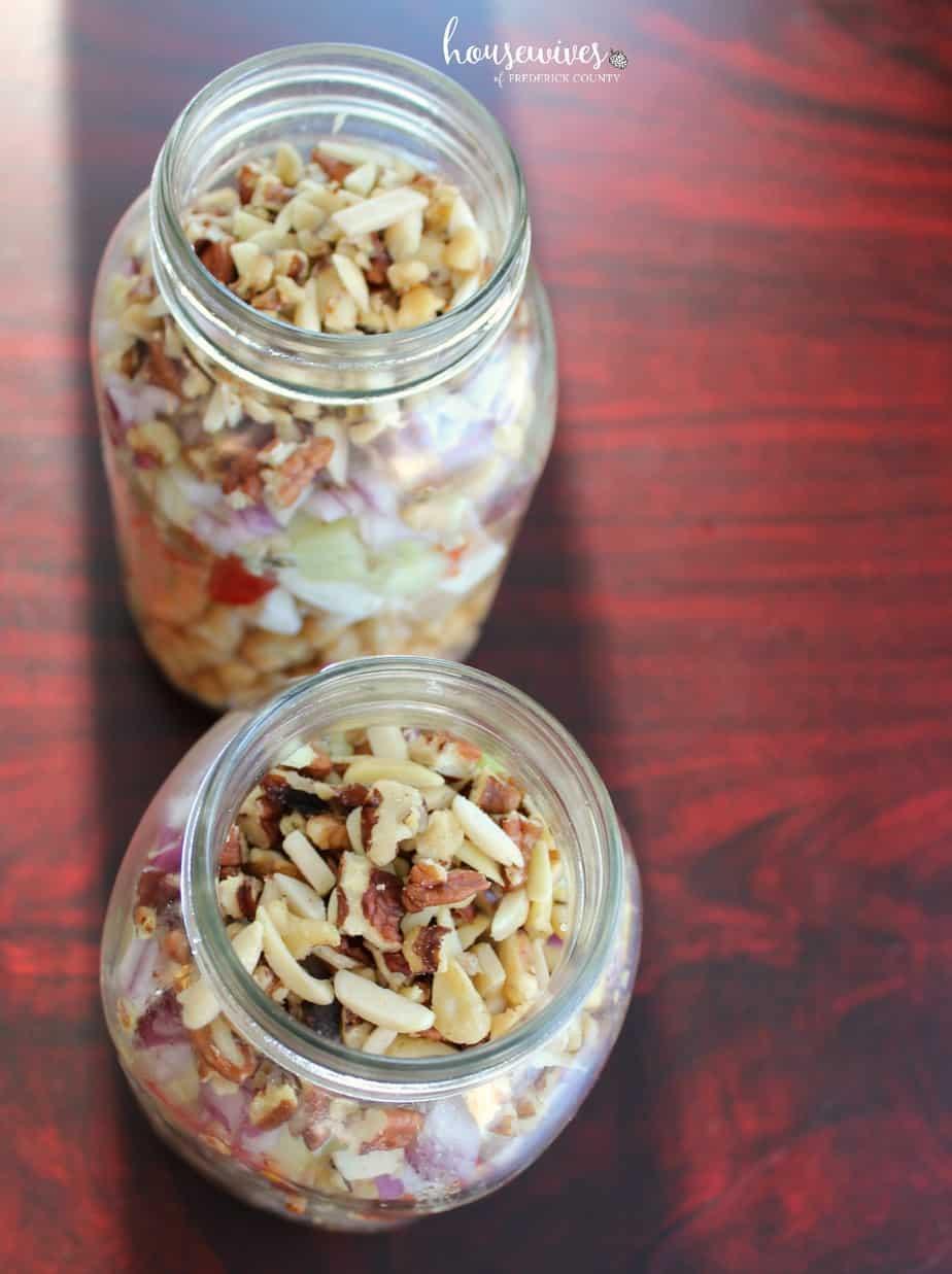 Meal Prep Recipe: Use wide mouth mason jars