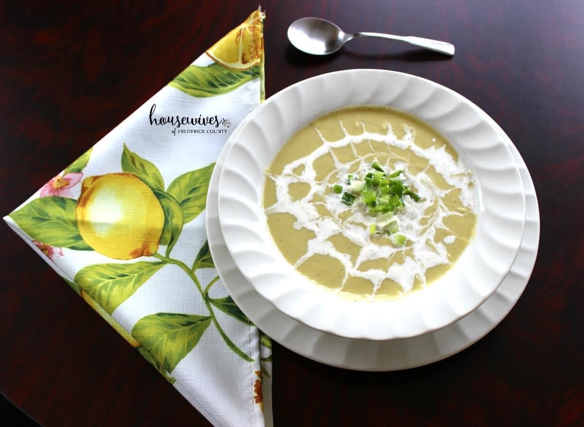 Creamy Leek & Parsnip Soup - 8 Weight Watchers PPV