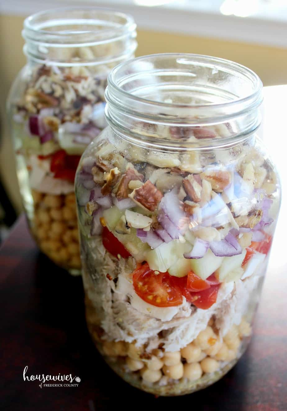 Meal Prep Recipe: Layer your ingredients in a specific order