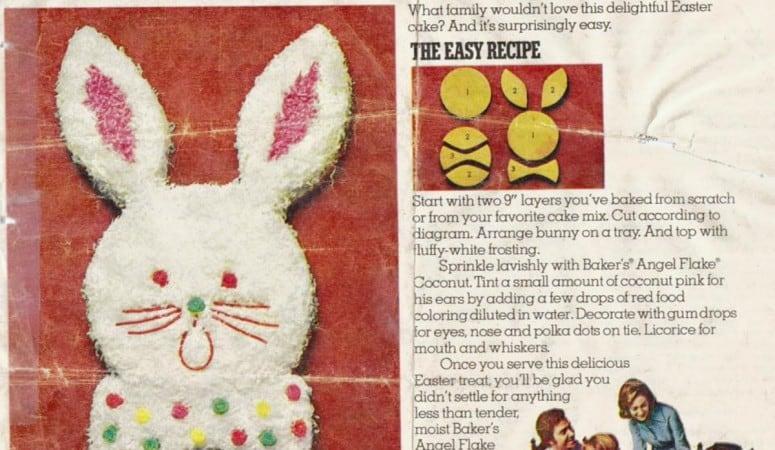 Easter Bunny Cake Recipe Like Mom Used to Make