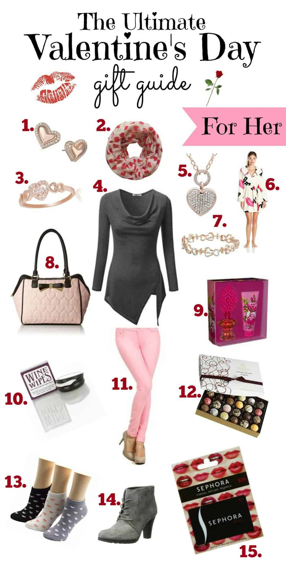 Valentines gifts her great valentines gifts for her ideas for Great valentines ideas for her