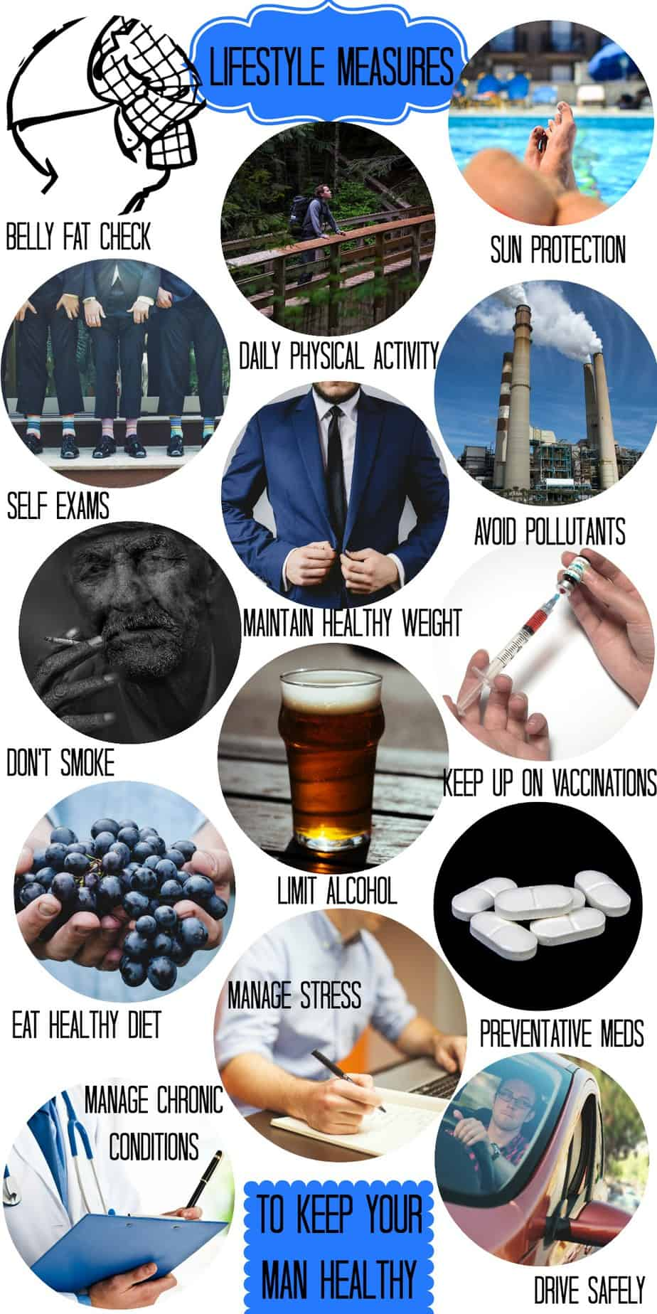 14 Lifestyle Habits for Mens Health