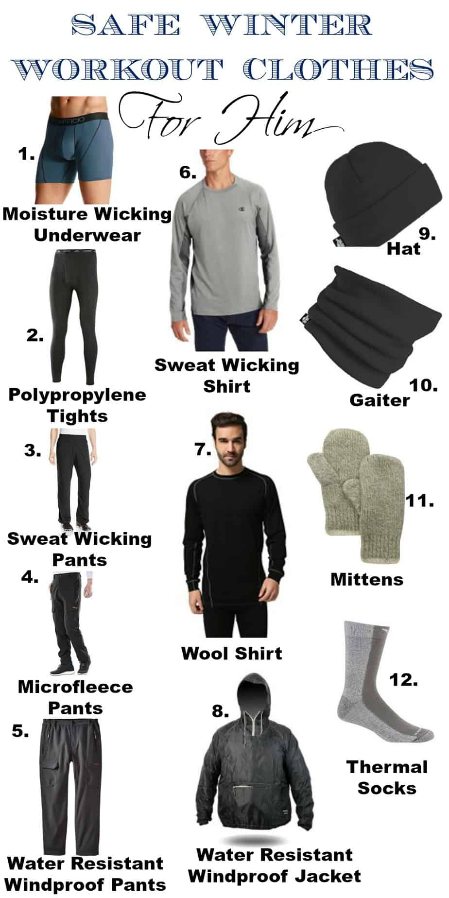 Safe Winter Workout Clothes