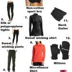 Safe Winter Workout Clothes