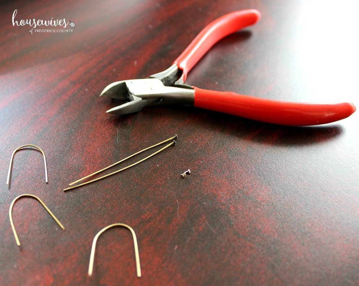 How to make U pins