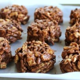WW No Bake Chocolate Cookies - 4 SmartPoints