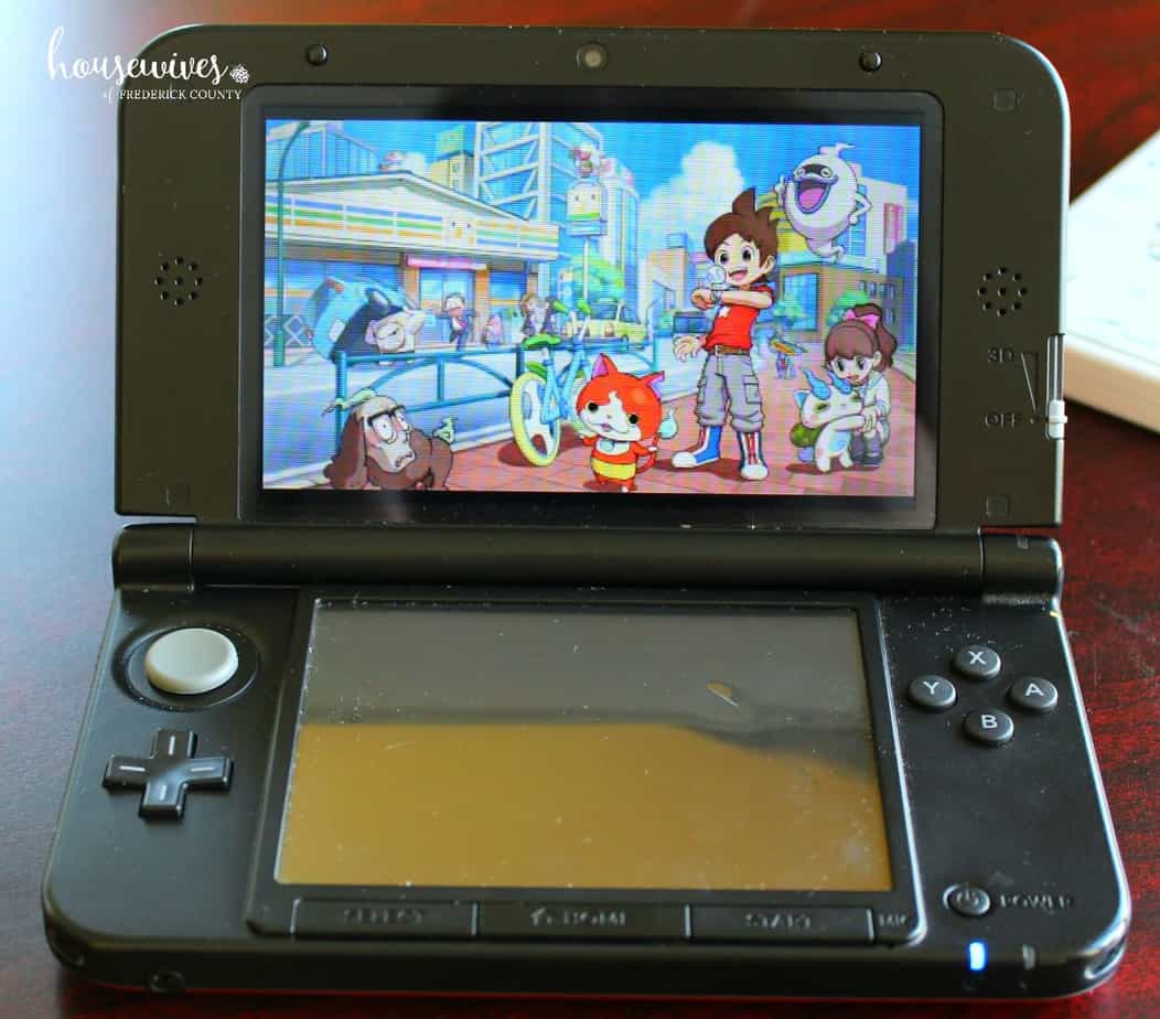Nintendo DS Yo-Kai Watch Game: My Kid's Review & Game Giveaway!
