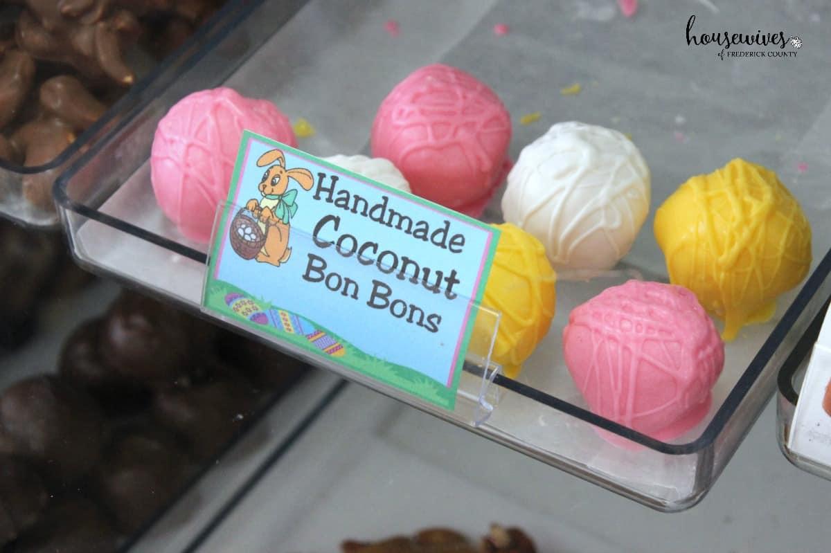 Handmade bon bons