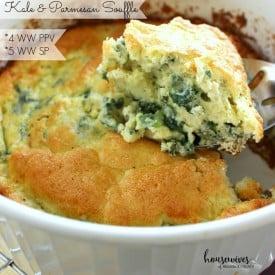 Kale & Parmesan Souffle - 4 Weight Watchers PPV
