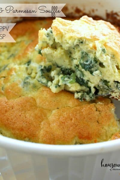 Kale & Parmesan Souffle - 4 Weight Watchers PPV
