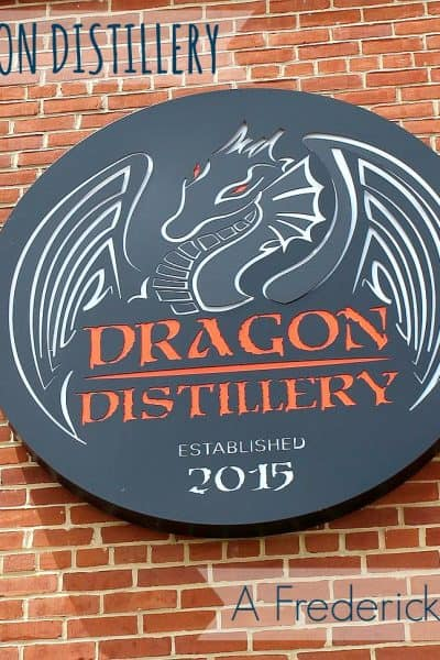 Our Very First Distillery in Frederick, Md: Dragon Distillery