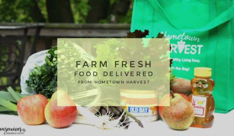 Farm Fresh Food Delivered From Hometown Harvest!