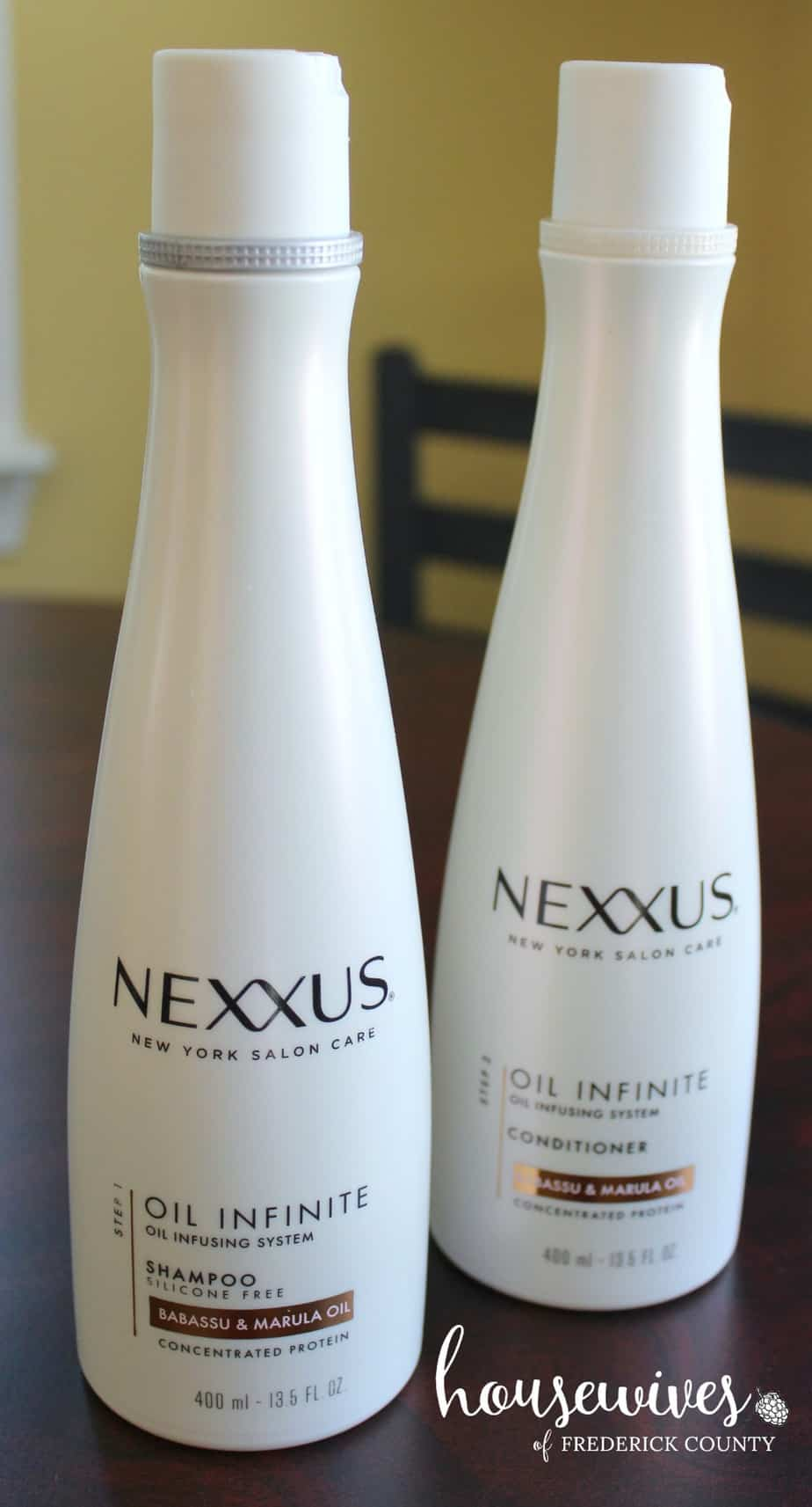 Nexxus Oil Infinite Shampoo & Conditioner
