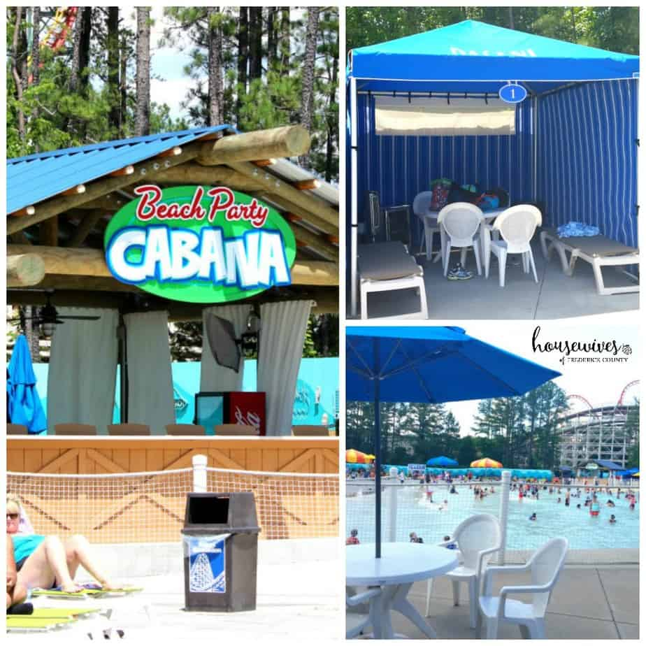 Kings Island Water Park Cabanas