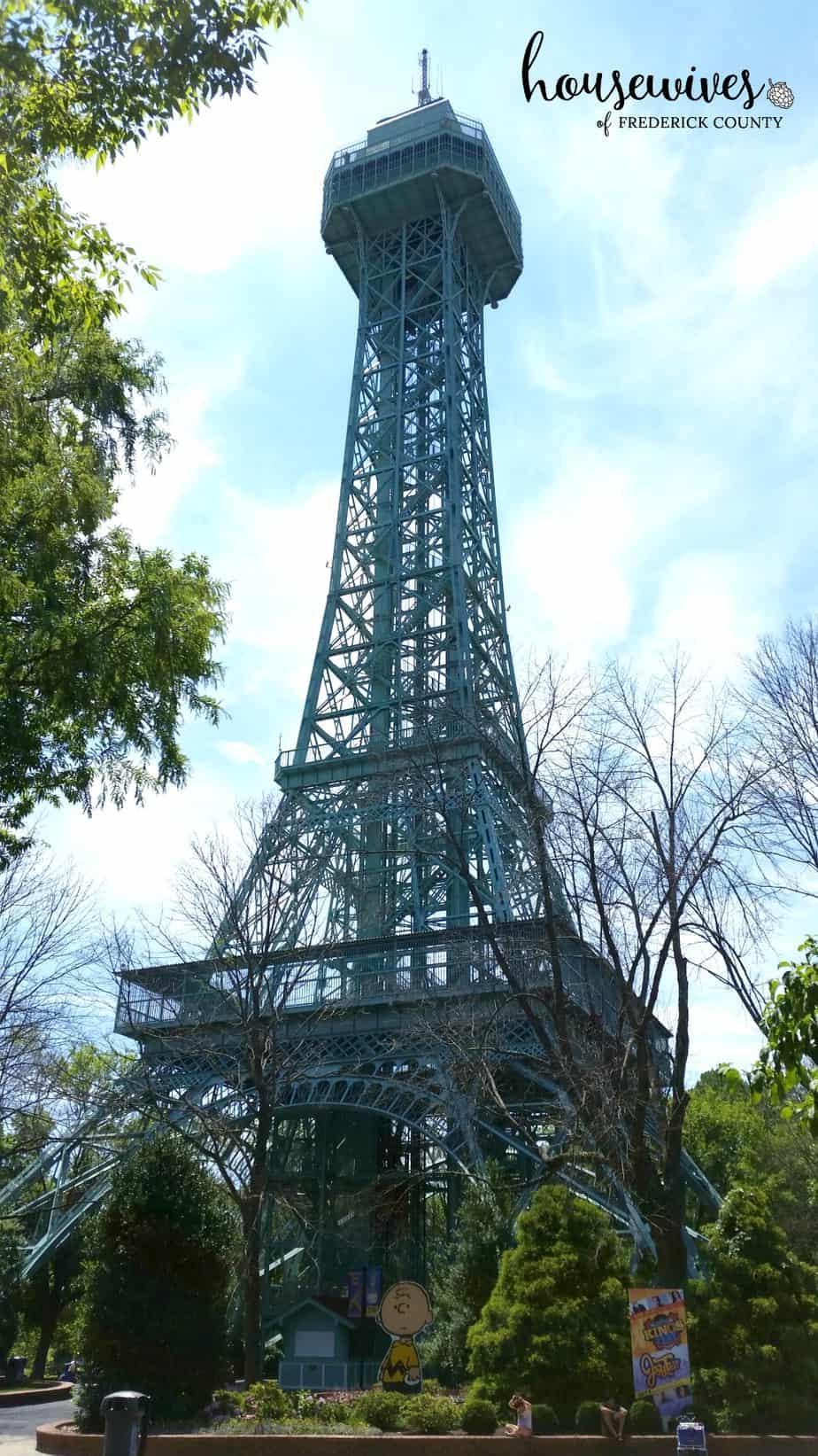 Kings Dominion Eiffel Tower