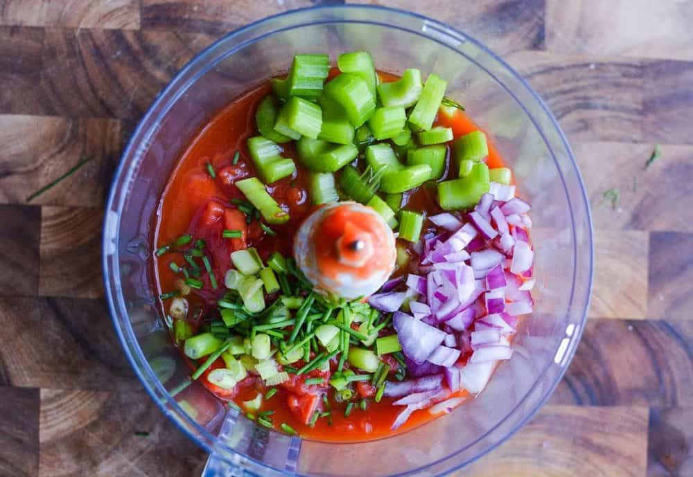 Traditional Gazpacho Recipe with a Kick