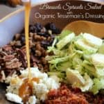 Brussels Sprouts Salad with Organic Tessemae's Dressing