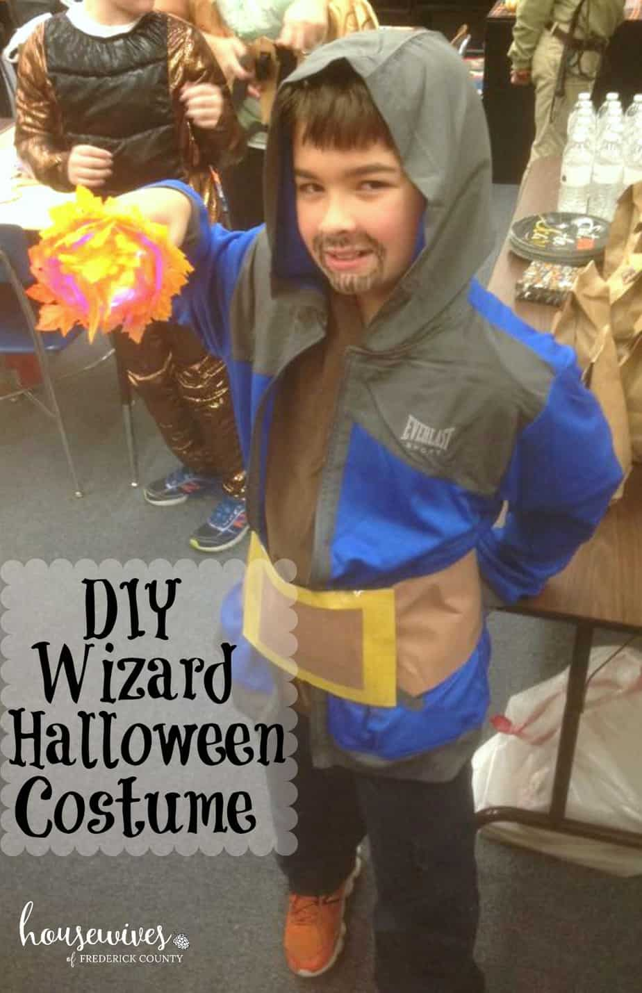 DIY Wizard Halloween Costume