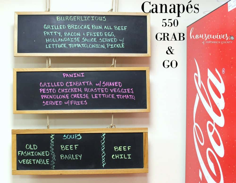 Canapés 550 Grab and Go: Breakfast, Lunch, and Baked Goods