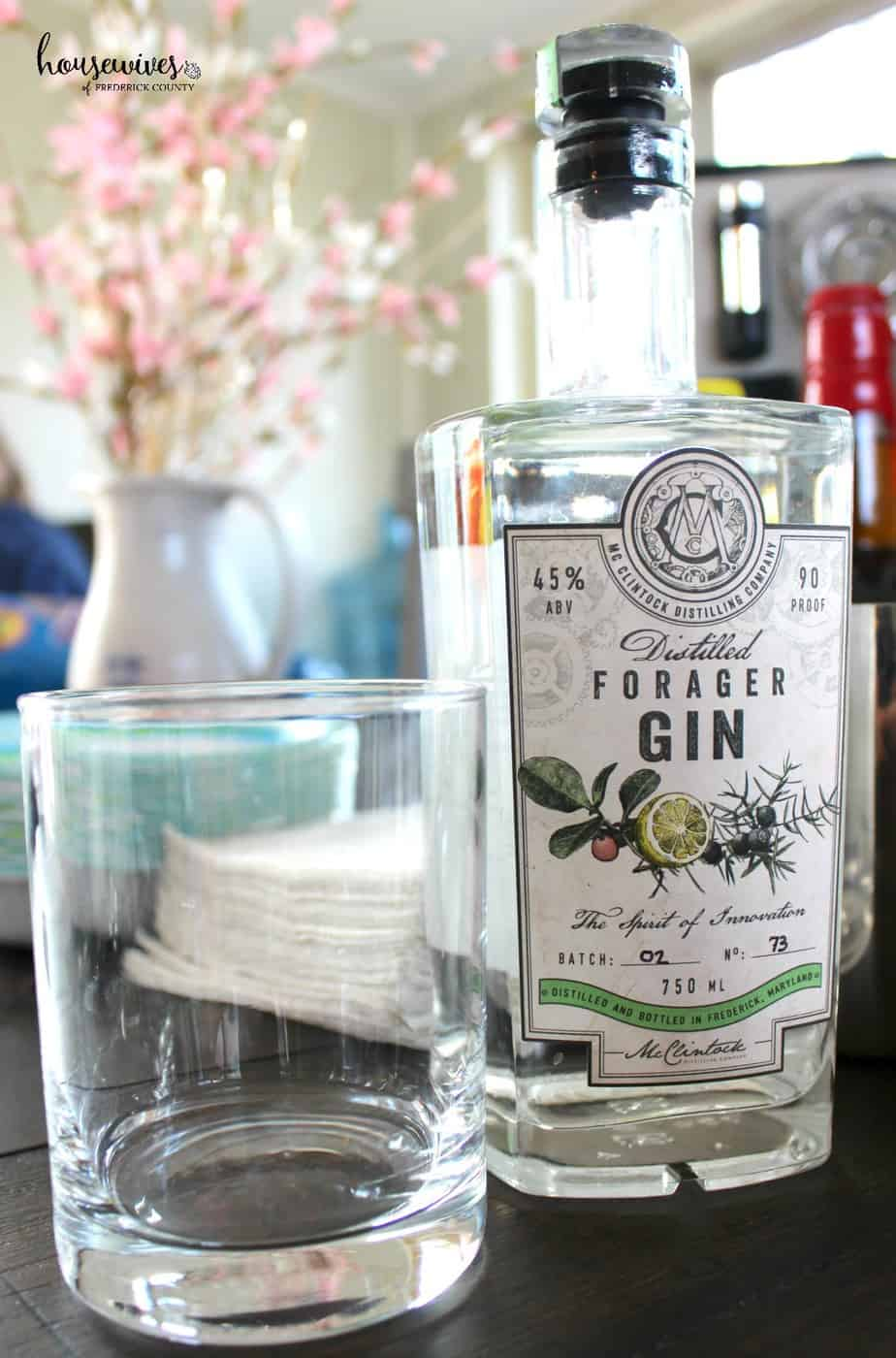 McClintock Distilled Forager Gin