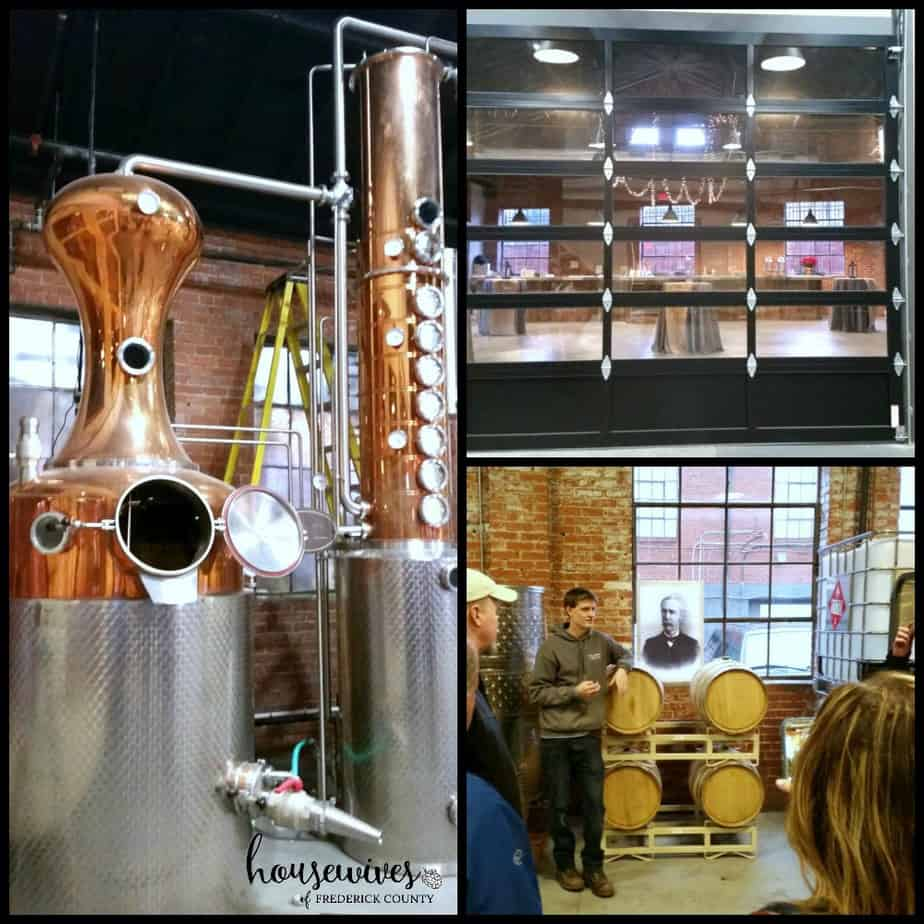 Behind the Scenes at McClintock Distilling - One of the distilleries in Frederick Md