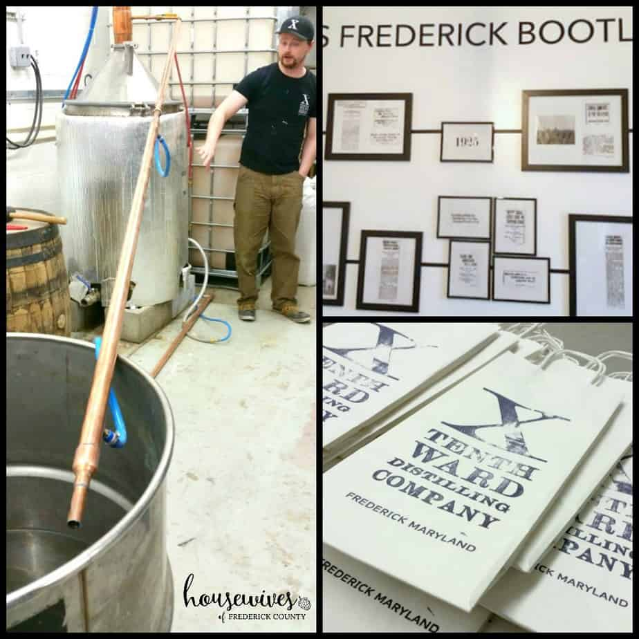 Behind the Scenes at Tenth Ward Distillery - One of the distilleries in Frederick Md
