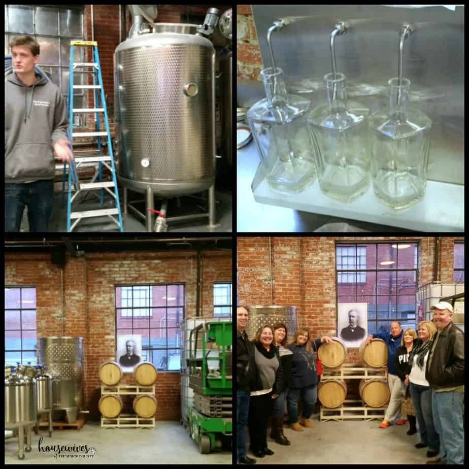Showing us how McClintock Distilling runs behind the scenes