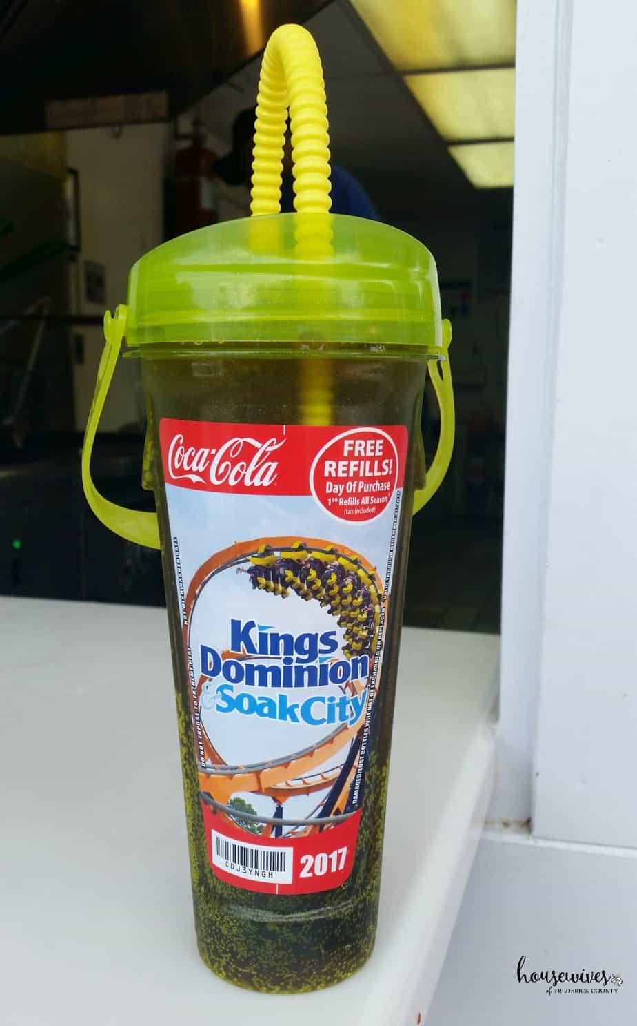 Buy a Souvenir Refillable Drink