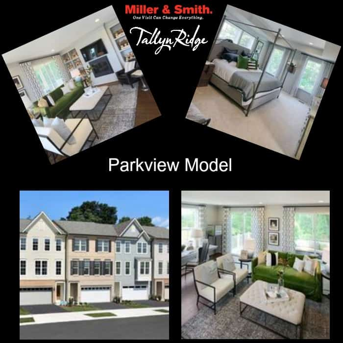 Parkview Model Townhome at Tallyn Ridge in Frederick, MD