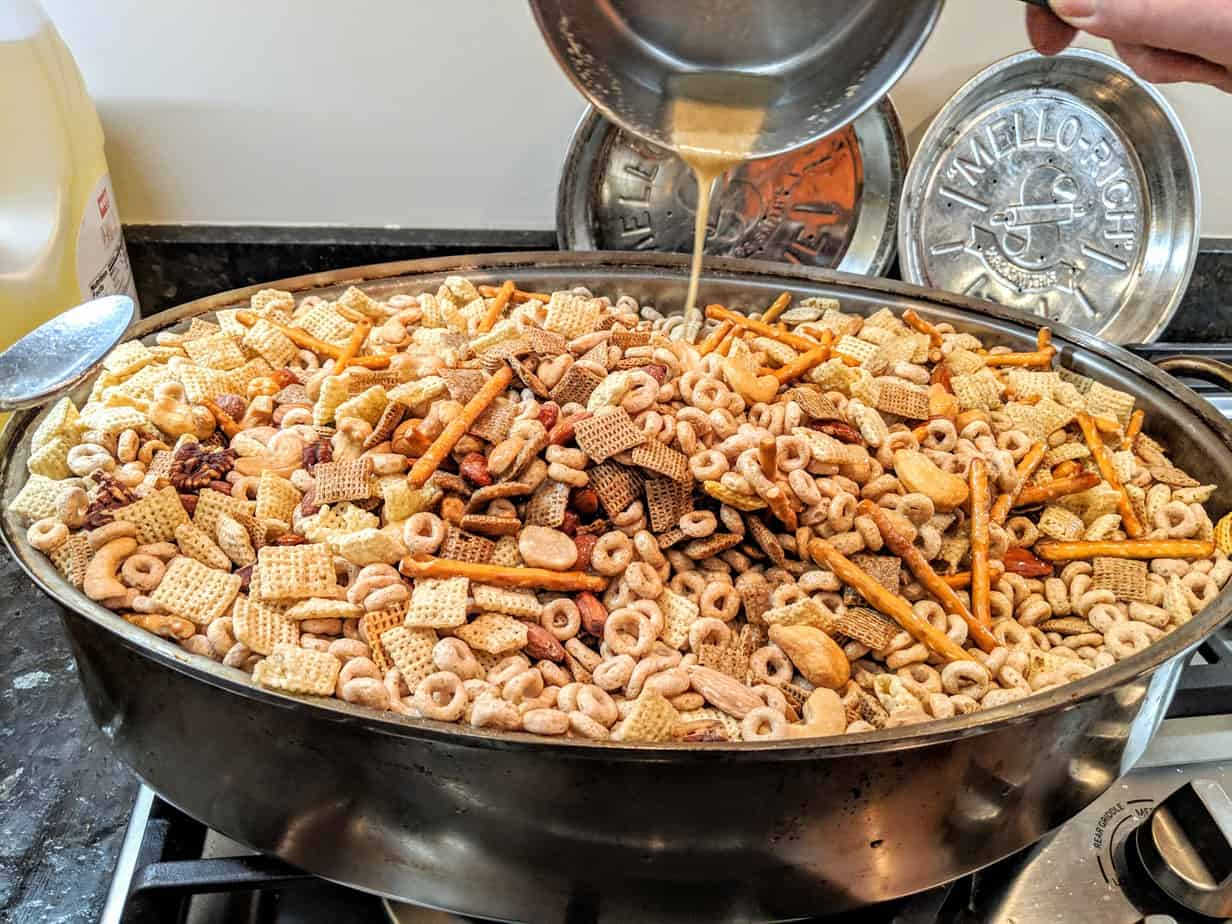 Nuts and Bolts Recipe
