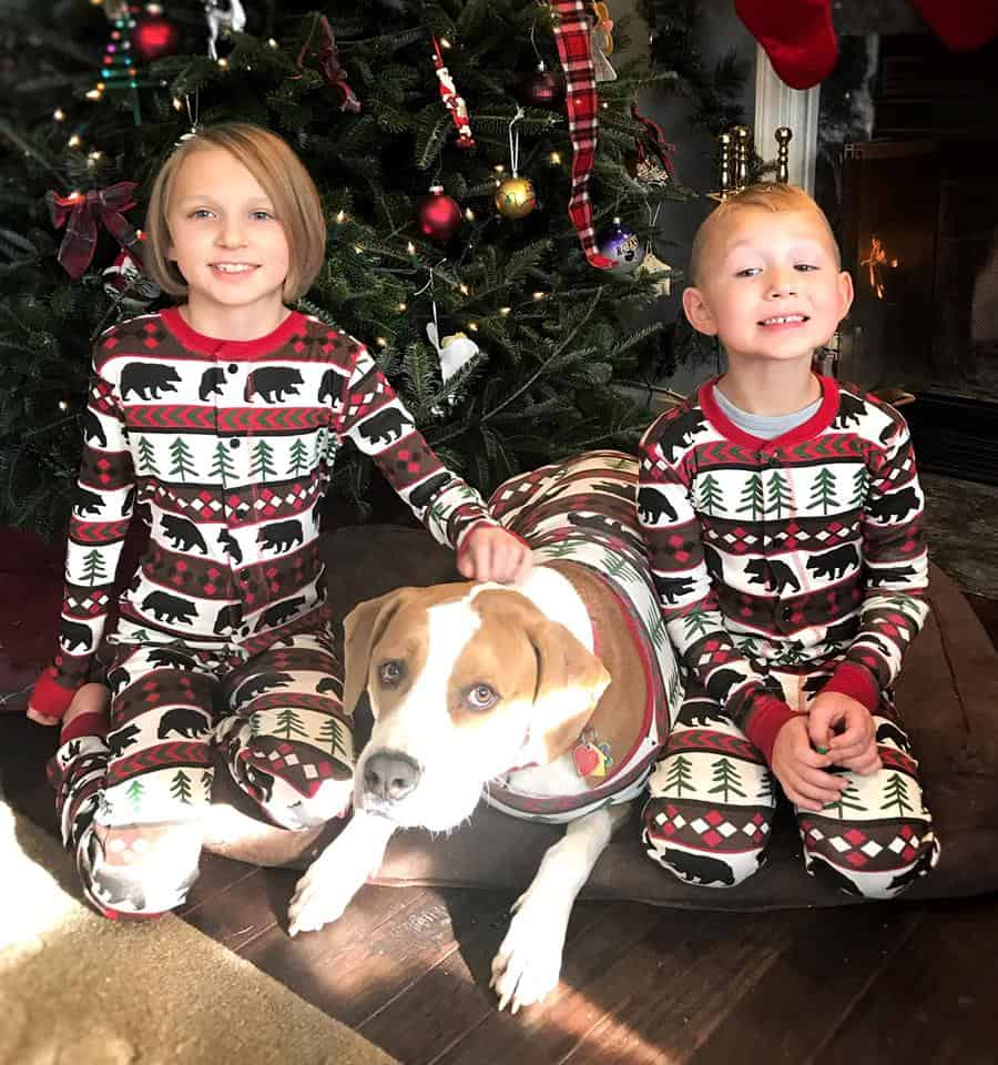 Matching pajamas with your dog