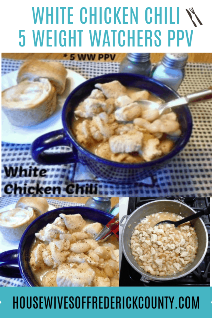 Weight Watchers White Chicken Chili - 5 Points Plus Value