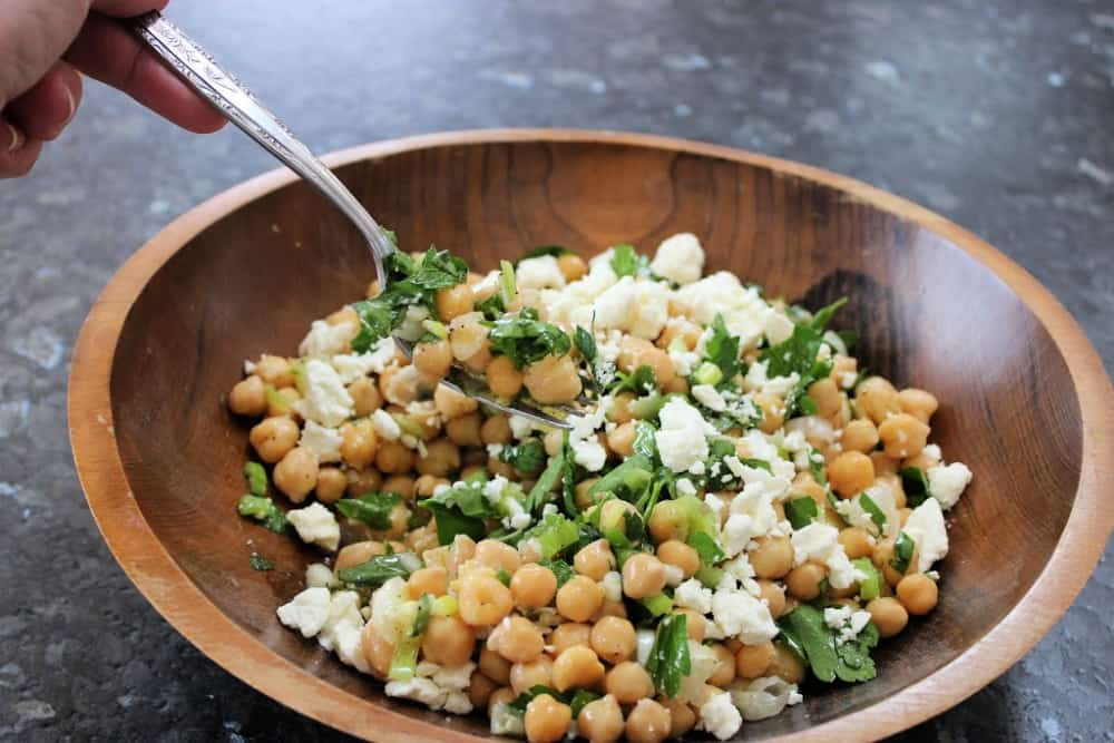 Delicious WW Chickpea Salad