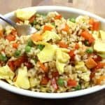 Healthy Veggie Fried Rice