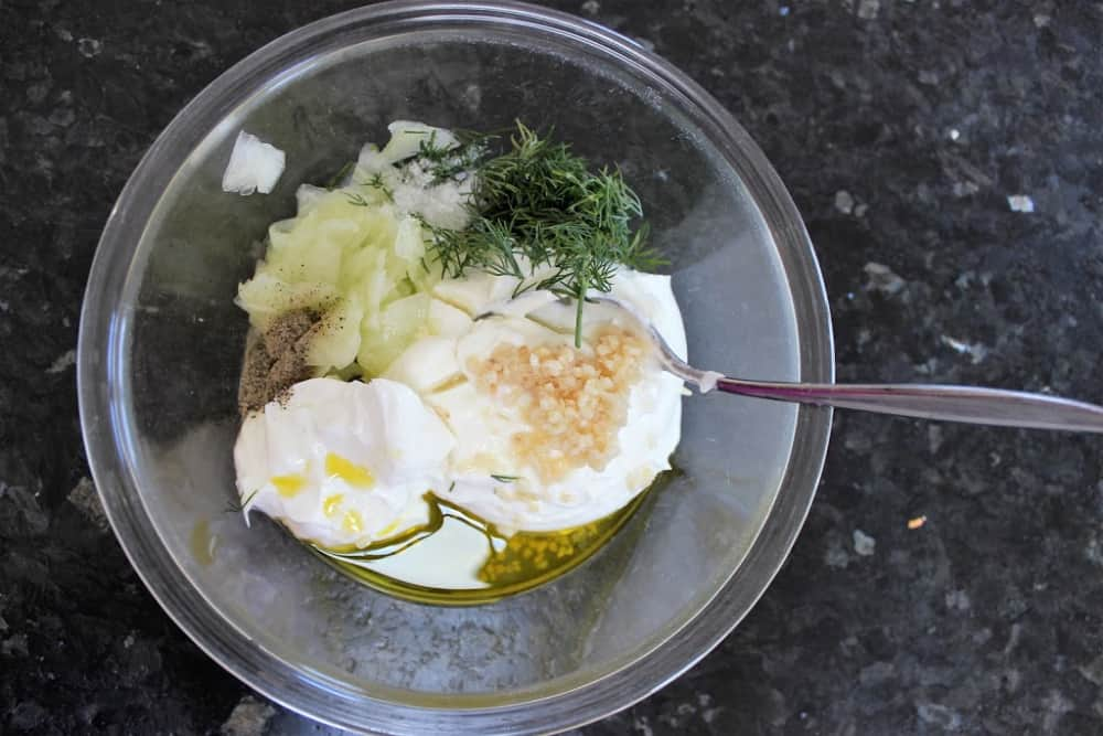 How to make Tzatziki