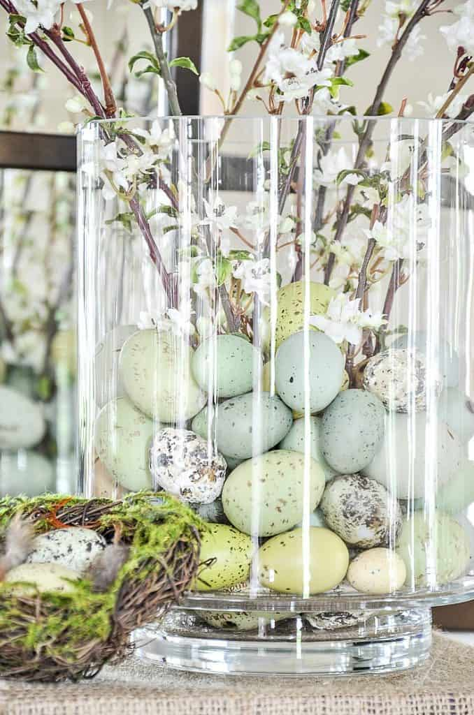 Easter DIY Centerpiece