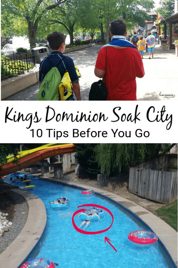 Kings Dominion Soak City: 10 Tips Before You Go