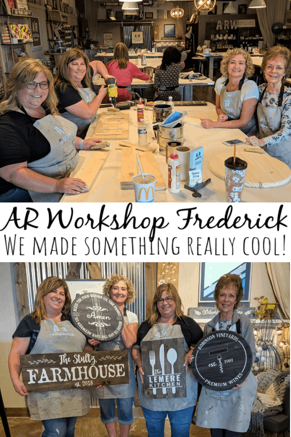 AR Workshop Frederick: We Made Something Really Cool!
