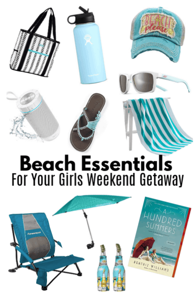 Beach Essentials For Your Girls Weekend Getaway!