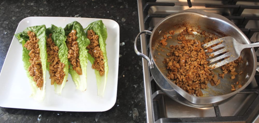 Asian Chicken Lettuce Wraps: You Can't Eat Just One!