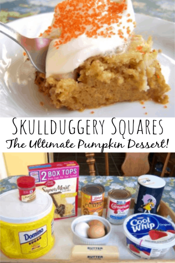 The Ultimate Pumpkin Dessert! Pumpkin Crunch Cake