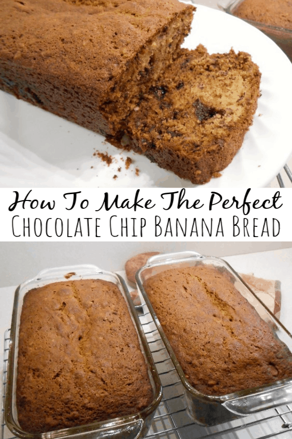 How to Make the Perfect Chocolate Chip Banana Bread
