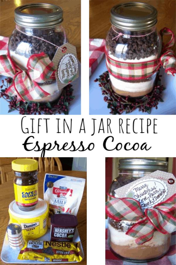 Gift in a Jar Recipe: Espresso Cocoa