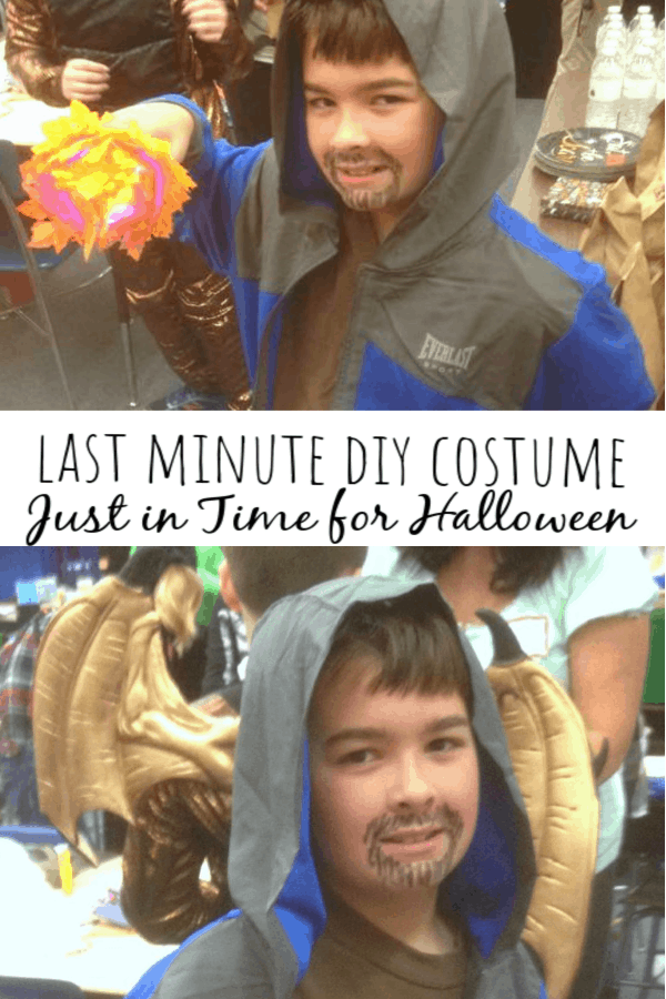 Last Minute DIY Costume: Just in Time For Halloween